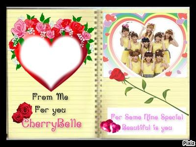 For Some Nine Special Cherrybelle Frame