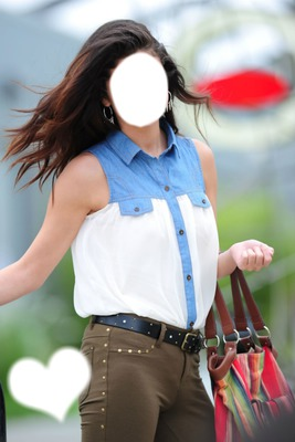 You're Selena Gomez -photoshop