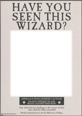 graphic relating to Have You Seen This Wizard Printable titled Picture montage Include your self observed this wizard? - Pixiz