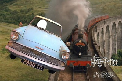 voiture harry potter