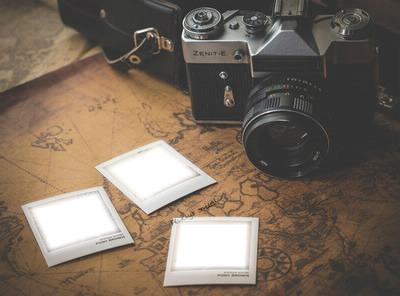 polaroid 3 photos