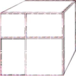 cubo de 6 fotos