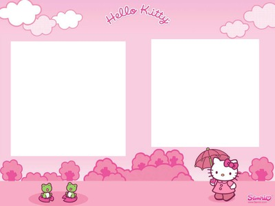 2 photos Hello Kitty