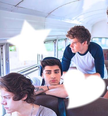 One Direction - Harry, Zayn, Liam