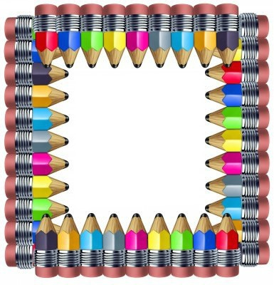 Cadre crayons