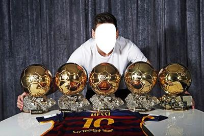 Messi 5 ballons d'or