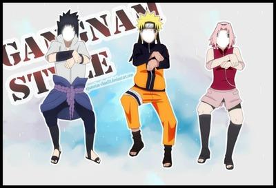 Gangnam Style - Sasuke, Naruto e Sasuke