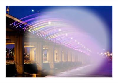 le pont lumineux