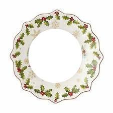 assiette de Noel italienne