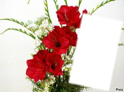 *bouquet de fleurs*