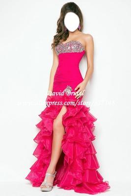 Photo Montage Vestido De Gala Para Chicas De 18 Años Hasta