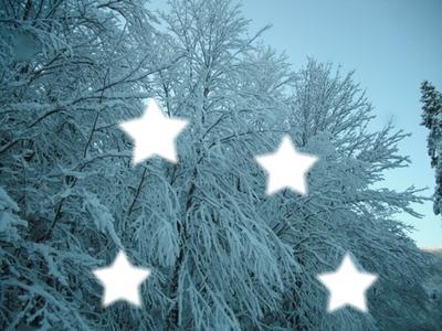 neige pour noel