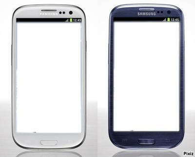 Samsung galaxy S3 Blanc et Bleu