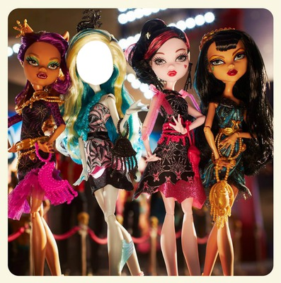 monster high frigs camera action