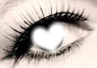 le cœur dans les yeux