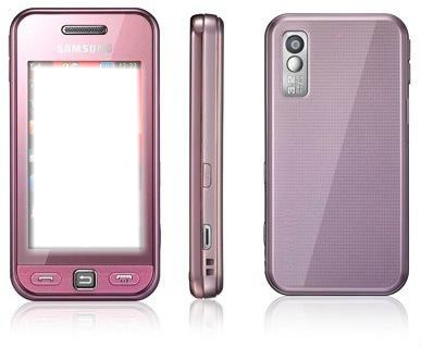 celular rosado