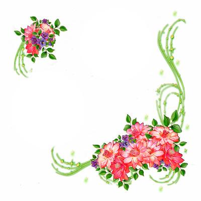 bloemen 2 foto's