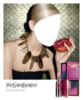 Yves Saint Laurent Spring Look 2012 Advertising