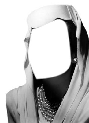 femme noir et blanc