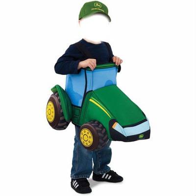 John Deere, tractor, toy, costume, funny, joke,