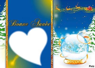 Coeur Bonne Année