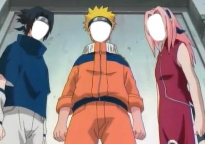 Naruto Sakura y Sasuke
