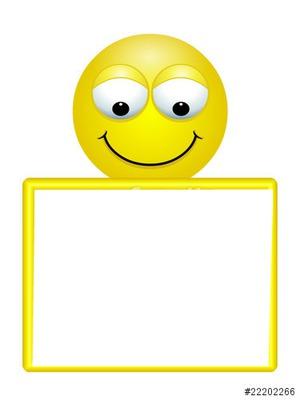 cadre photo smiley