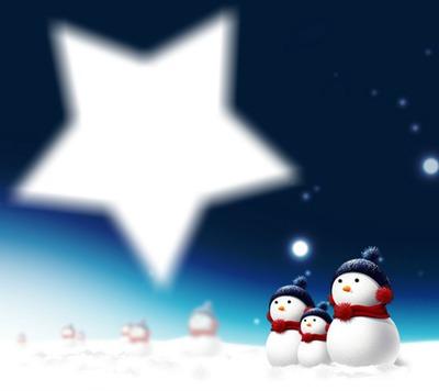 WeihnachtssternRp am Himmel