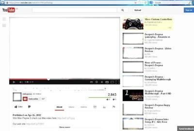 fondo de youtube