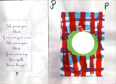 Montage Photo Poème Enfant Pêche Pomme Poire Pixiz