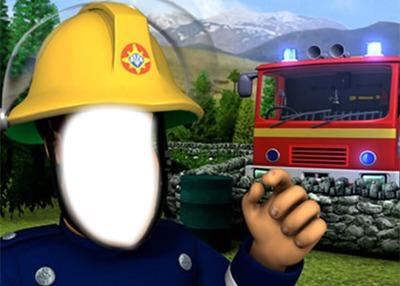Montage photo sam le pompier pixiz - Photo sam le pompier ...
