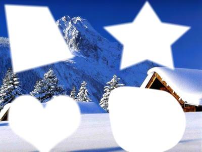 noel et la neige