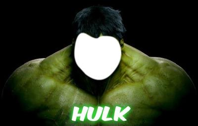 Fotomontagem Hulk 1 Photo Pixiz