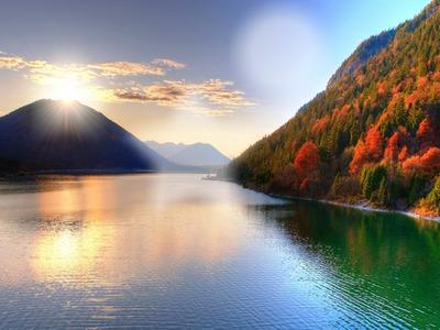 Lac Saison d'automne