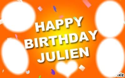 happy birthday julien
