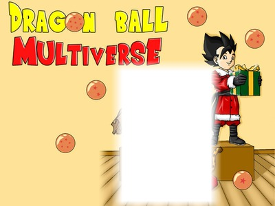 DRAGON BALL SUPER MULTI PERE NOEL