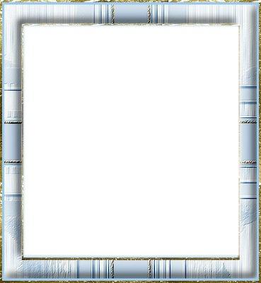 Cadre bleu et blanc