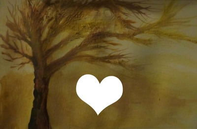 arbre aquarelle peint par GINO GIBILARO