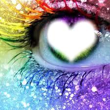 ojo colorido