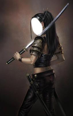 femme sabre