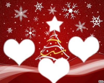 Noël sapin 4 photos