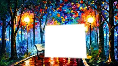 el bosque multicolor