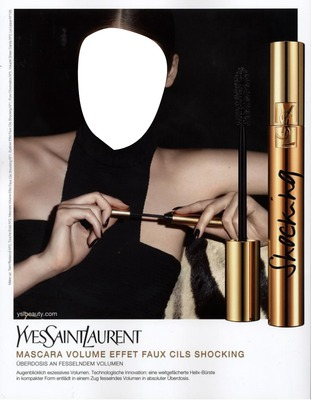 Yves Saint Laurent Mascara Advertising