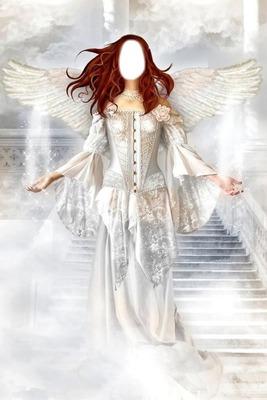 Ange Femme photo montage femme ange - pixiz