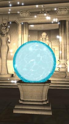 Bola de Cristal 🔮 Clarividência Egípcia