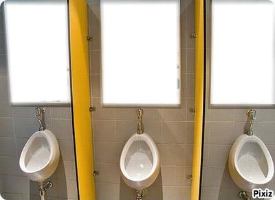 Les toilettes pour hommes