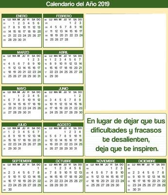 Montaje Fotografico Calendario 3 19 Frase Pixiz