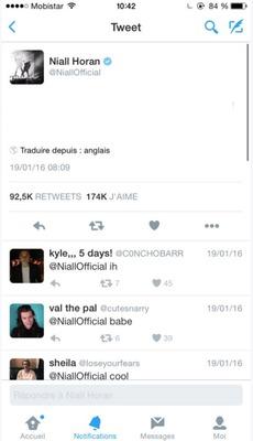 niall tweet