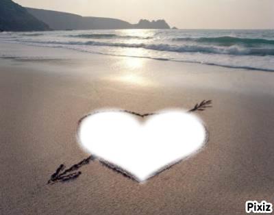Coeur de plage
