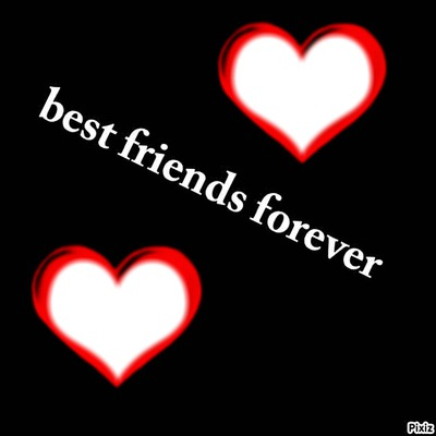 Photo montage best friends forever - Pixiz